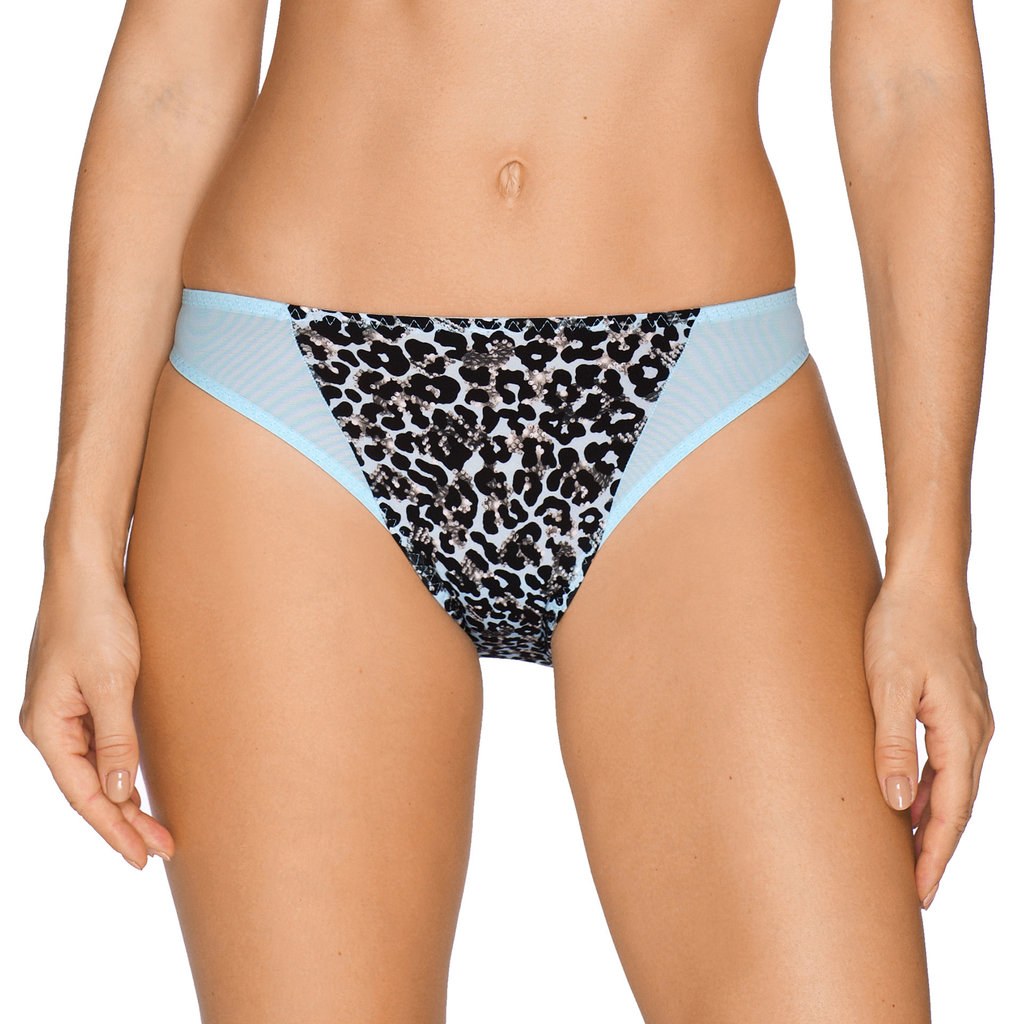 Prima Donna Twist Tropical Rio Brief Knickers 0541630 Luxury Lingerie Blue Gel