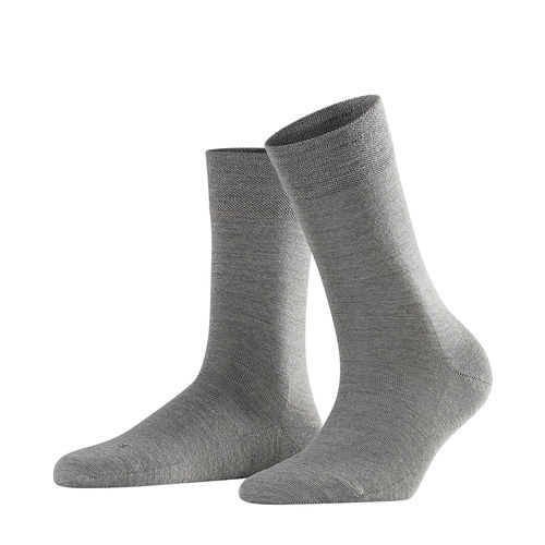Falke Sensitive Berlin strumpor grey mel.